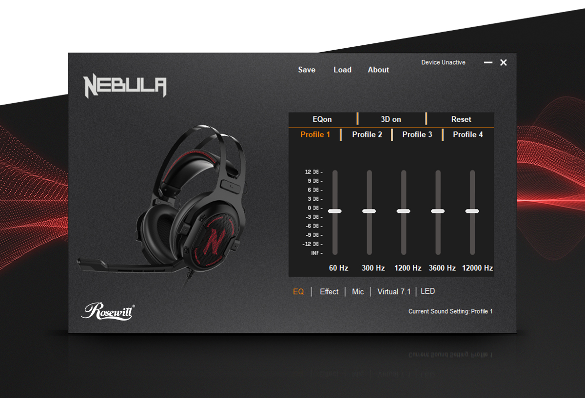 Rosewill 7 1 Surround Sound Gaming Headset, RGB Noise Isolation Headphones,  Memory Foam Ear Pads and Microphone - NEBULA GX60 - Newegg com