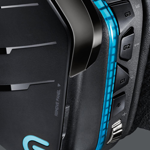 Logitech G933 Circumaural Wireless 7 1 Surround Sound Gaming Headset -  Newegg com