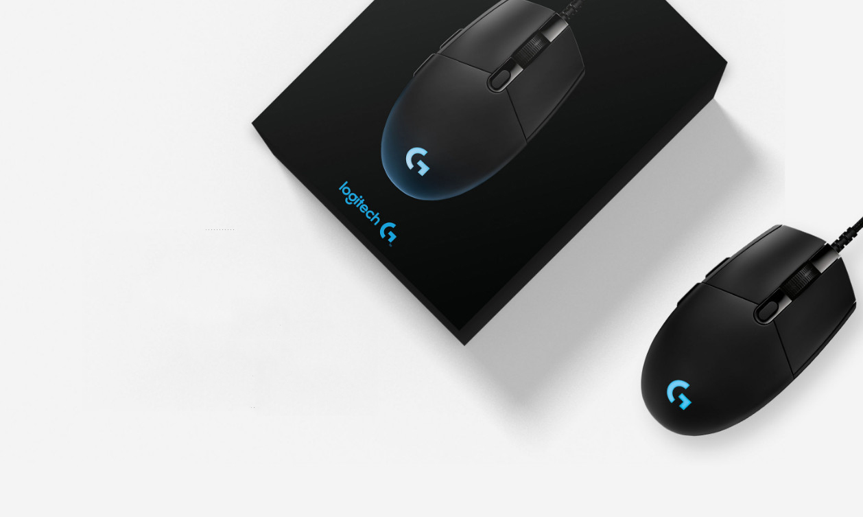 Logitech G Pro Gaming Fps Mouse With Advanced Sensor For Hero In The Box