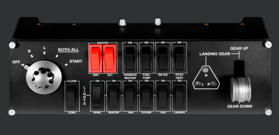 Logitech G Saitek Pro Flight Switch Panel - Newegg com - Newegg com