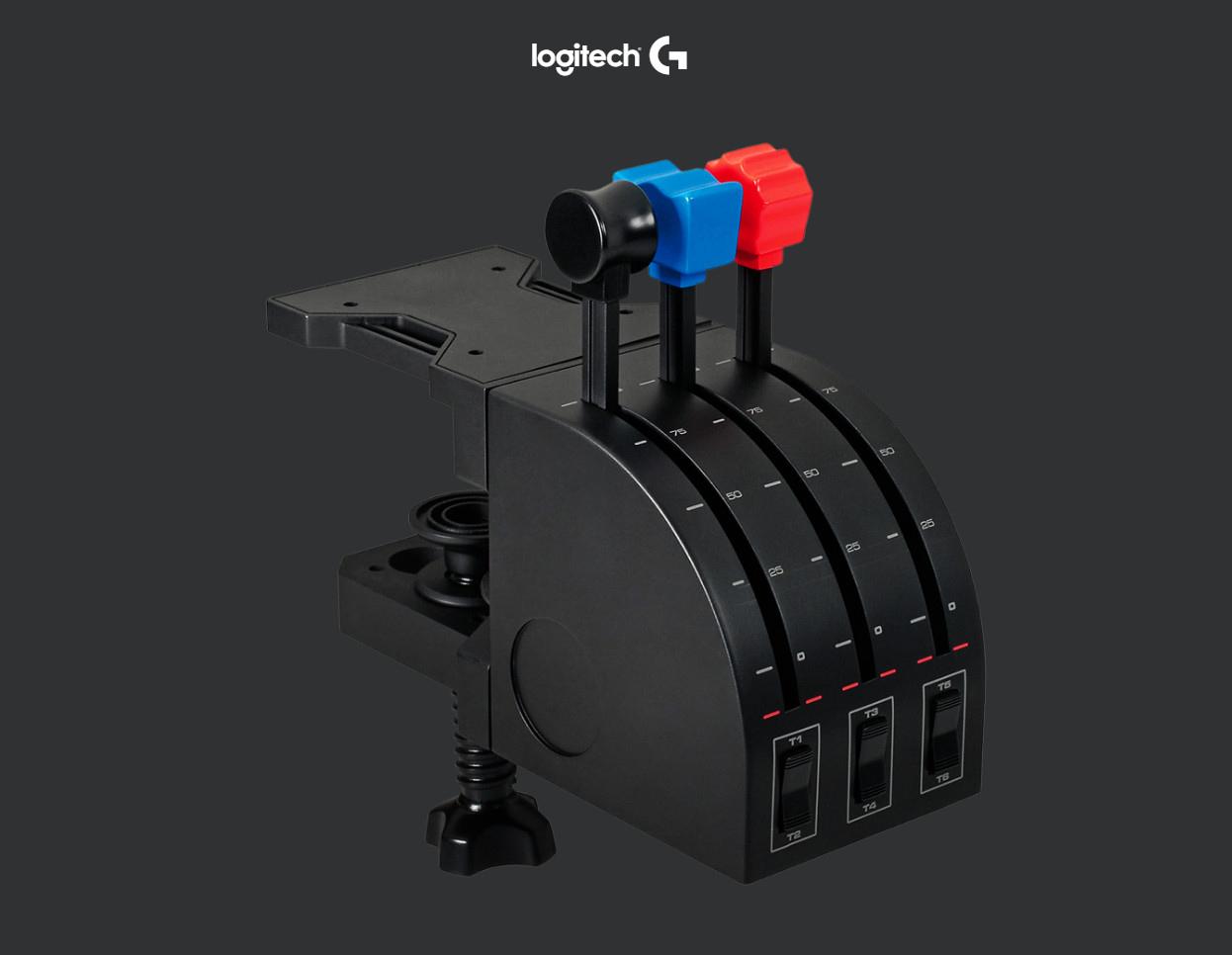 Logitech G Saitek PRO Flight Throttle Quadrant - Newegg com
