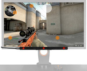 SteelSeries 69041 Sentry Gaming Eye Tracker - Newegg com