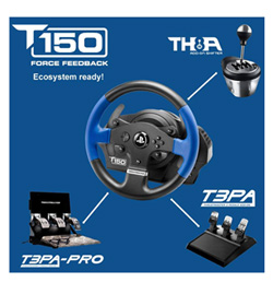 thrustmaster t150 racing wheel ebay