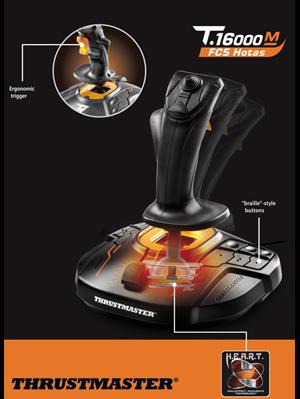 Thrustmaster T 16000M FCS HOTAS Controller - Newegg ca