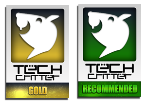 Logo for Tech-Critter Gold Award