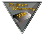 icon for 256K built-in memory