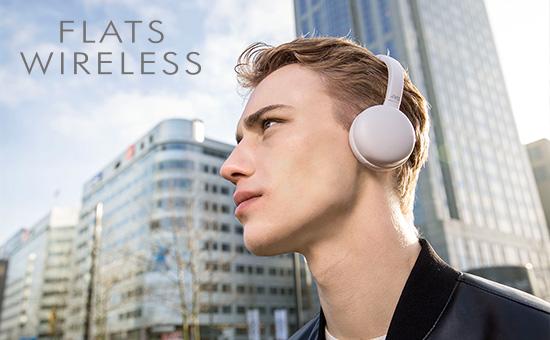 e80973e7093 JVC HA-S20BT Flats Wireless Bluetooth On-Ear Headphone - Black ...