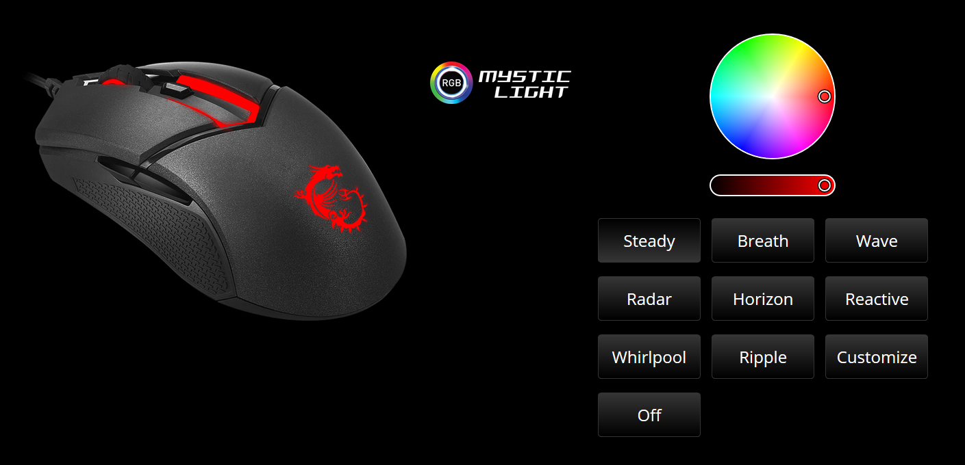 MSI Gaming Mouse-CLUTCH GM30