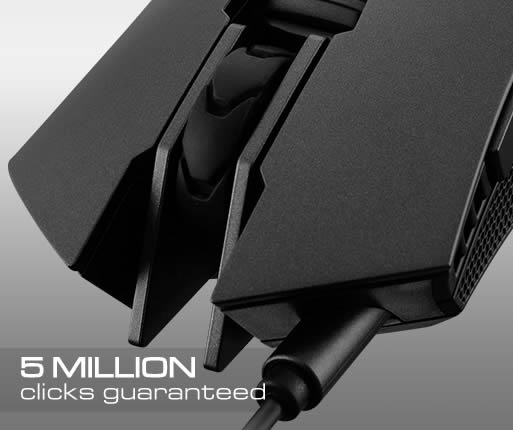 1b52c0963da OMRON Switches provide absolute accuracy and an incredibly long life: With  guaranteed minimum of 5 million clicks, this gaming mouse is going to serve  you ...