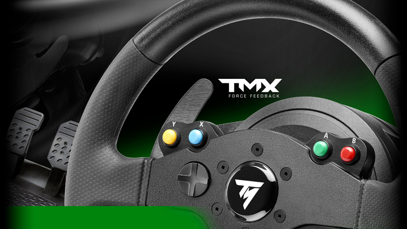 Thrustmaster TMX Force Feedback Wheel - Xbox One - Newegg com