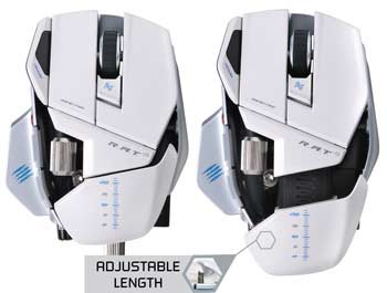 Mad Catz R.A.T. 9 Wireless Gaming Mouse - Take Control of Your Games