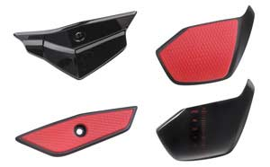 Mad Catz R.A.T. 9 Wireless Gaming Mouse - Interchangeable Pinkie Grips and Palm Rests