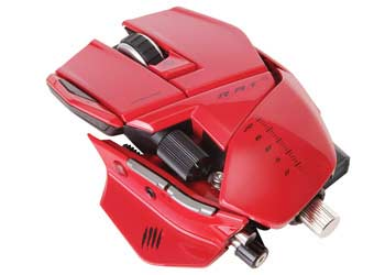 Mad Catz R.A.T. 9 Wireless Gaming Mouse for PC and Mac