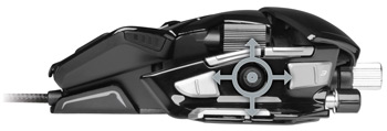 Mad Catz M.M.O. 7 Gaming Mouse-Unique 5D Button Enables 5 Commands with a Single Control