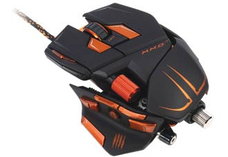 Mad Catz M.M.O. 7 Gaming Mouse for PC and Mac