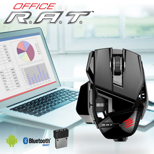 Mad Catz Office R A T Sup Wireless Mouse