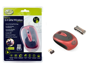 GEAR HEAD 2.4 GHz Wireless Optical Mobile Mouse