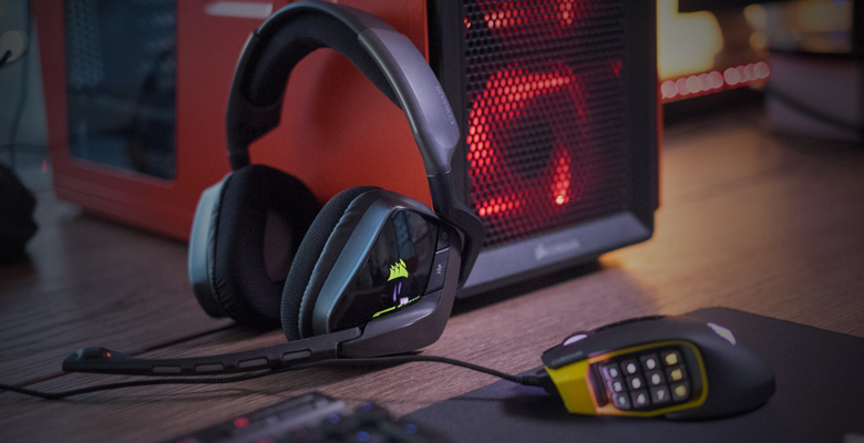 Corsair Gaming VOID Wireless RGB Gaming Headset - Carbon - Newegg com
