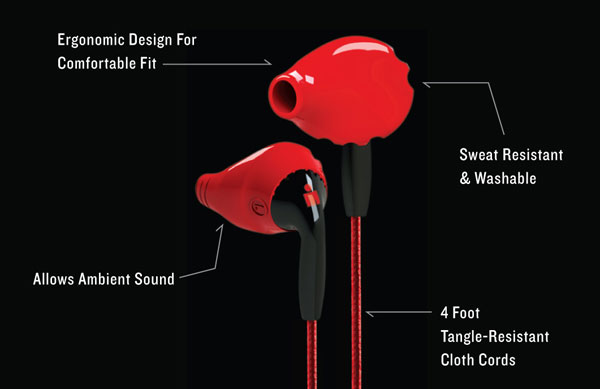Yurbuds Inspire Duro Features
