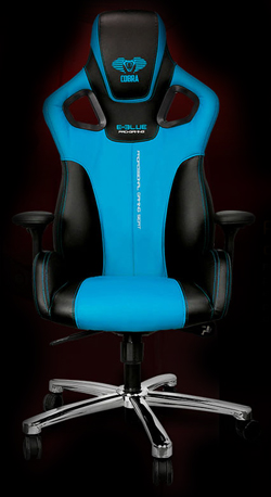 Blue pc gaming chair cobra gaming chair red newegg com