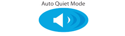 Icon for Auto Quiet mode