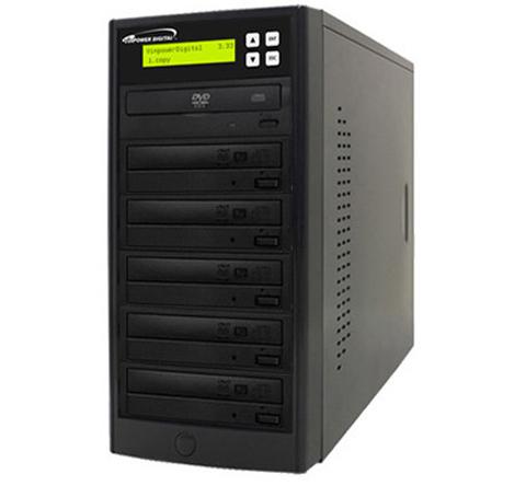 VINPOWER Black 1 to 5 SATA DVD/CD Tower Duplicator