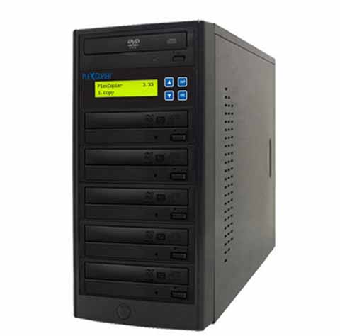 PlexCopier 24X SATA 1 to 5 CD DVD duplicator Burner