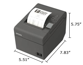 Star Micronics Receipt Printers Pdf Epson Readyprint T Direct Thermal Printer  Monochrome  Desktop  Receipt Spreadsheet Pdf with Jeep Invoice Pricing Excel Star Micronics Receipt App Word