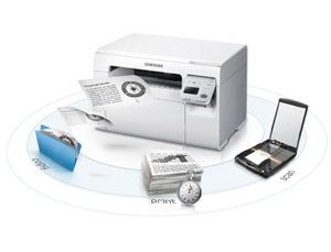how to connect samsung scx 3405w printer to wifi