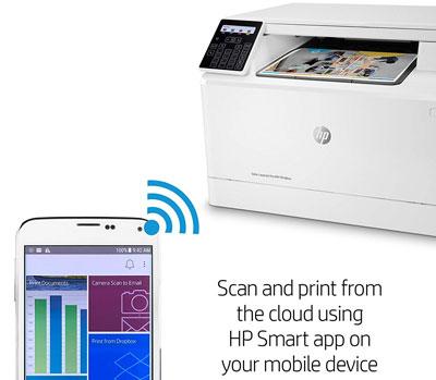 HP Color LaserJet Pro MFP M180nw (T6B74A#BGJ) Wireless USB Color Laser  Printer - Newegg com