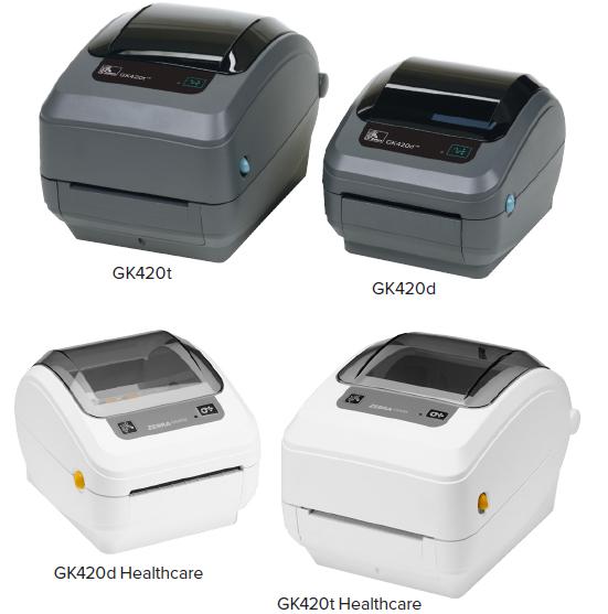 """Zebra GK420d 4"""" Desktop Direct Thermal Label Printer, 203 dpi, USB, Serial,  Centronics Parallel, EPL, ZPLII - GK42-202510-000 - Newegg com"""