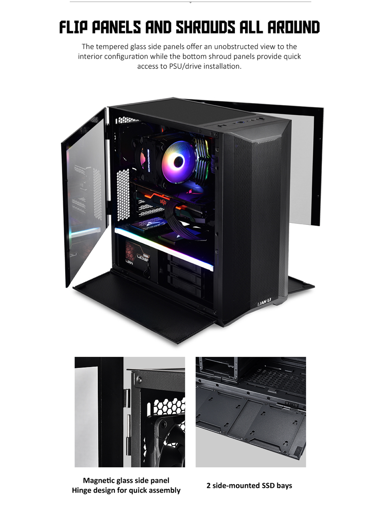 LIAN Lancool ATX Mid Tower