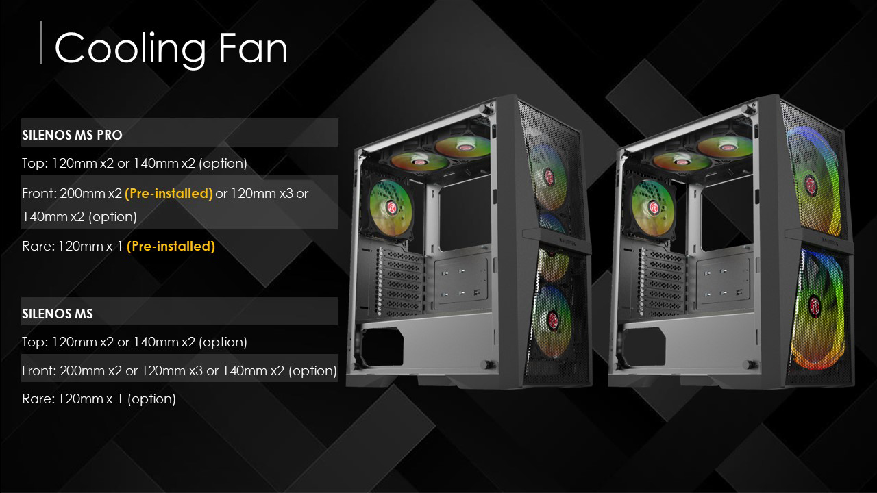 RAIJINTEK Cases