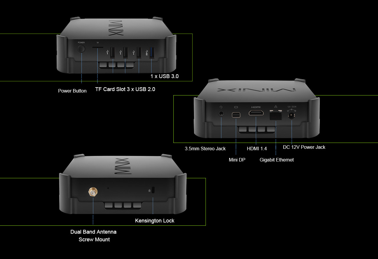 MINIX NEO Z83-4 Pro TV BOX