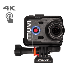 Muvi K-Series K-2 Pro 4k Wi-Fi Handsfree Camera