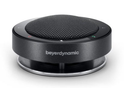 Beyerdynamic Phonum Wireless Bluetooth Speakerphone facing forward