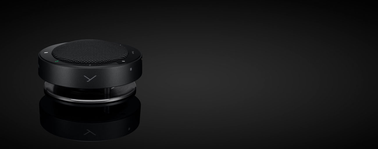 Beyerdynamic Phonum Wireless Bluetooth Speakerphone side view