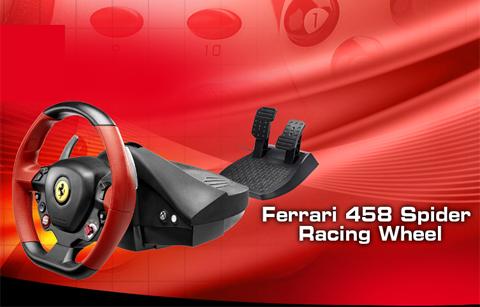 Thrustmaster Vg Ferrari 458 Spider Racing Wheel Xbox One