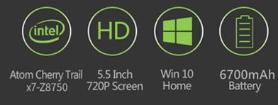 GPD Win Aluminum Shell Version 5.5 inch Gamepad Tablet PC