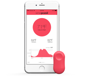 Sen Se Thermopeanut Smart Wireless Thermometer For