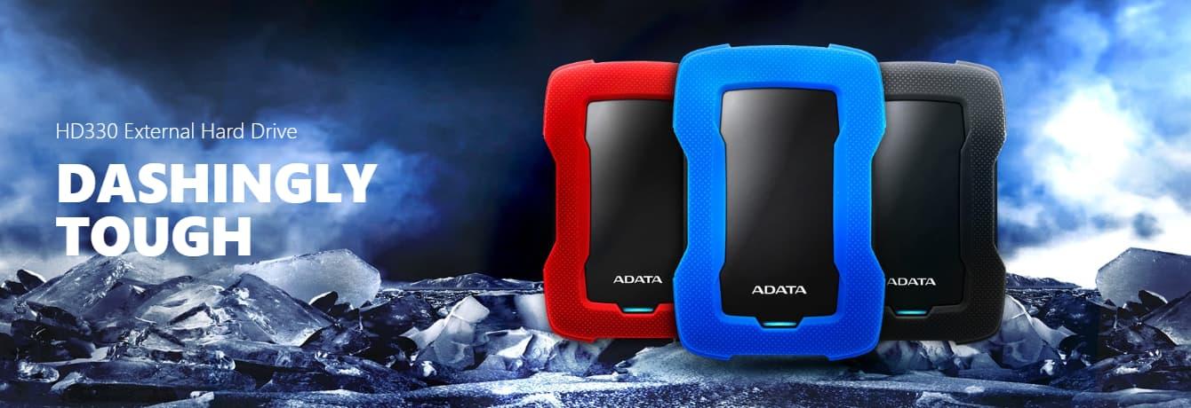ADATA HD330: 5TB Black External USB 3.2 Portable Hard Drive ...