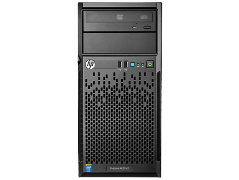 HP ProLiant ML10 V2 Tower Server System i3-4150 3 5 GHz 8GB RAM 500GB SATA  7 2K - Newegg com