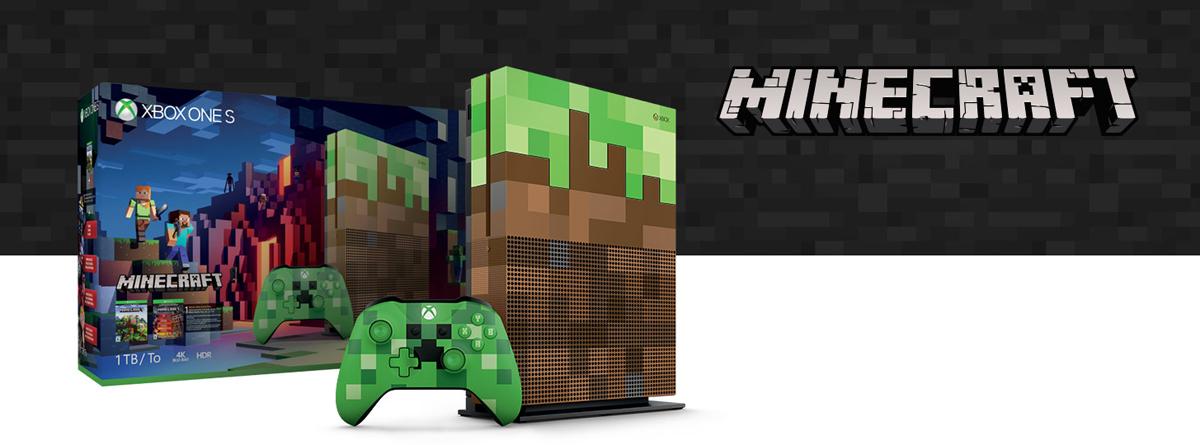 Xbox One S 1TB Console - Minecraft Limited Edition Bundle - Newegg ca