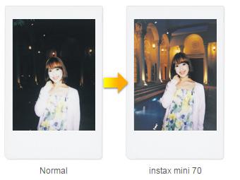 FUJIFILM instax mini 70 Film Camera