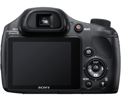 sony cyber shot dsc hx300/b black 20.4 mp 50x optical zoom