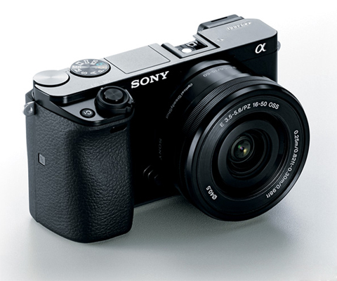 Sony Alpha A6000 Ilce 6000lb Black Mirrorless Camera With 16 50 Mm