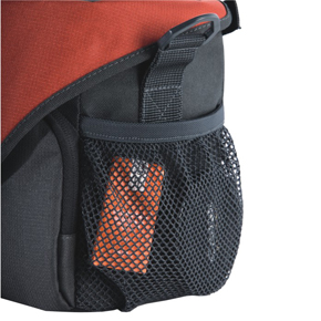 Easy Access Side Mesh Pocket