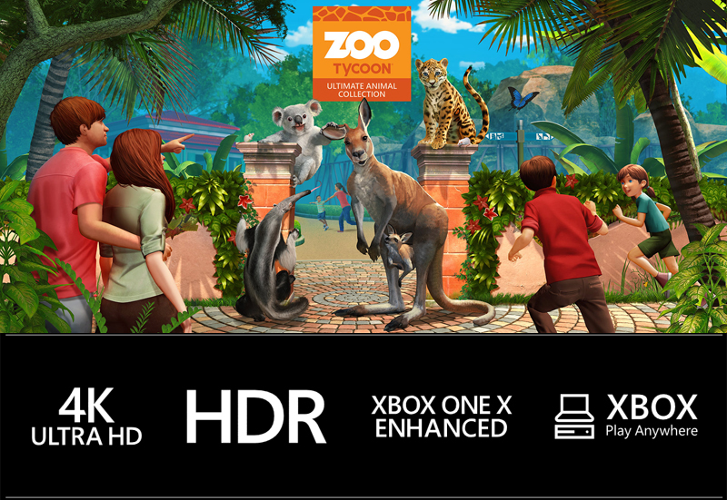 Zoo Tycoon: Ultimate Animal Collection Xbox One / Windows 10 [Digital Code]  - Newegg com