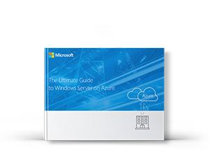 Windows server Azure guide product box