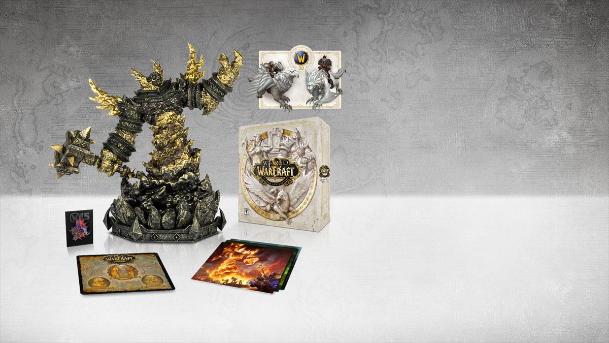 wow bfa collectors edition refund